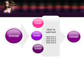 Party Girl PowerPoint Template#17