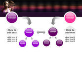 Party Girl PowerPoint Template#19