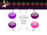 Party Girl PowerPoint Template#6