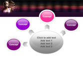 Party Girl PowerPoint Template#7