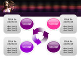 Party Girl PowerPoint Template#9