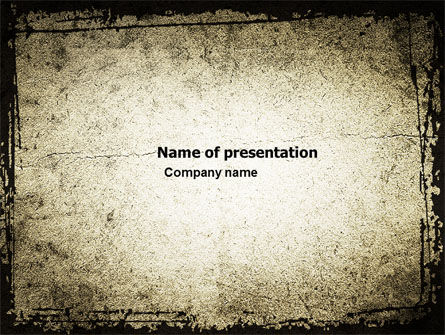 Abstract/Textures: Grunge Pattern PowerPoint Template #05328