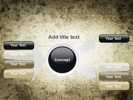 Grunge Pattern PowerPoint Template Slide 14