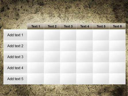 Grunge Pattern PowerPoint Template Slide 15