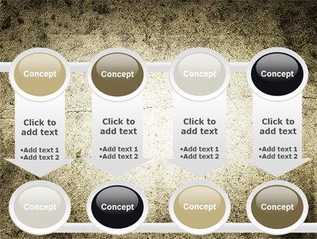 Grunge Pattern PowerPoint Template Slide 18