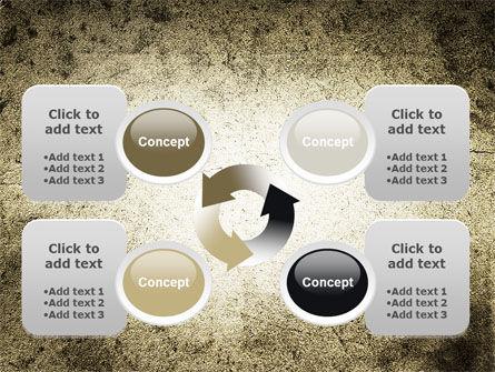 Grunge Pattern PowerPoint Template Slide 9