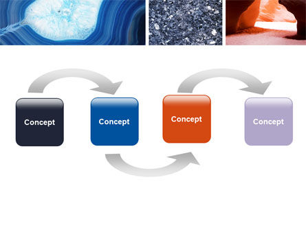 Minerals PowerPoint Template, Slide 4, 05330, Nature & Environment — PoweredTemplate.com
