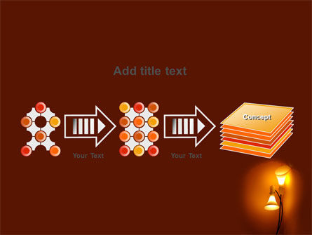 Free Lamps PowerPoint Template Slide 9