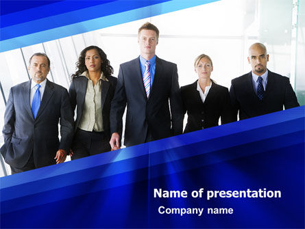 Business Professionals PowerPoint Template