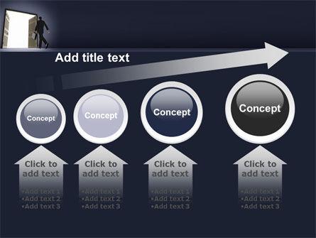 Open Doors To The Light PowerPoint Template Slide 13