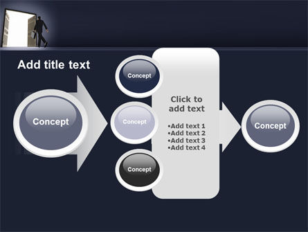 Open Doors To The Light PowerPoint Template Slide 17