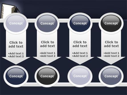 Open Doors To The Light PowerPoint Template Slide 18