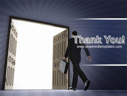 Open Doors To The Light PowerPoint Template Slide 20