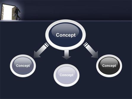 Open Doors To The Light PowerPoint Template, Slide 4, 05334, Business — PoweredTemplate.com