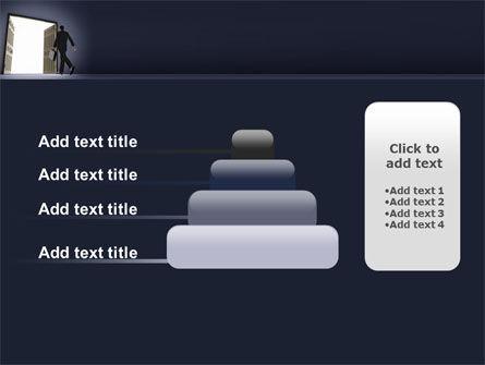 Open Doors To The Light PowerPoint Template Slide 8