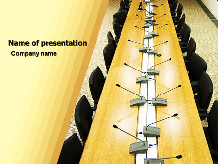 Consulting: Conference Free PowerPoint Template #05335