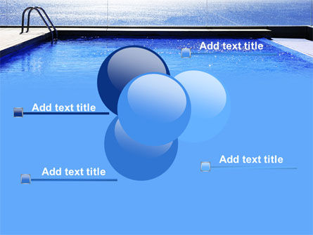 Pool On The Seashore PowerPoint Template Slide 10