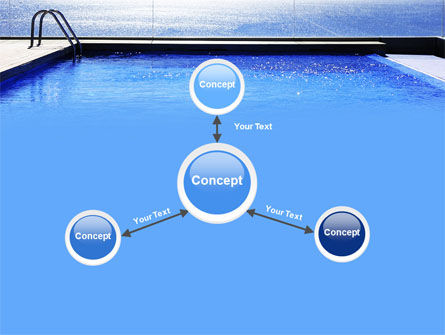 Pool On The Seashore PowerPoint Template Slide 15