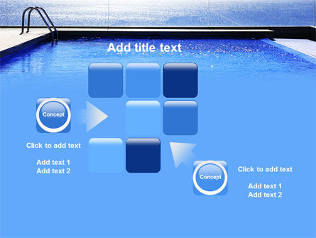 Pool On The Seashore PowerPoint Template Slide 16