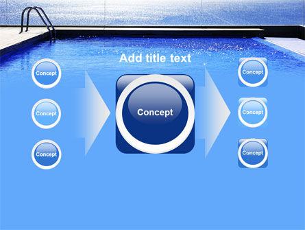 Pool On The Seashore PowerPoint Template Slide 17