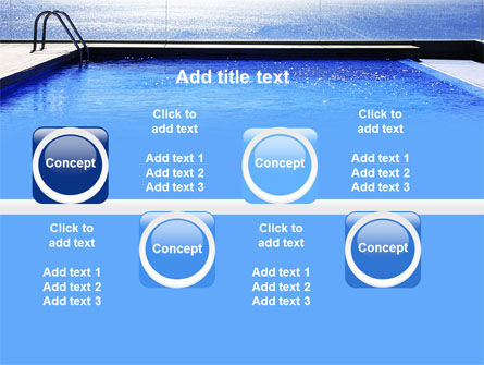 Pool On The Seashore PowerPoint Template Slide 19