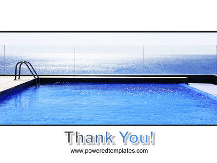 Pool On The Seashore PowerPoint Template Slide 20