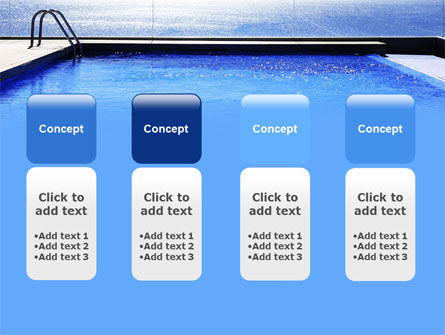 Pool On The Seashore PowerPoint Template Slide 5
