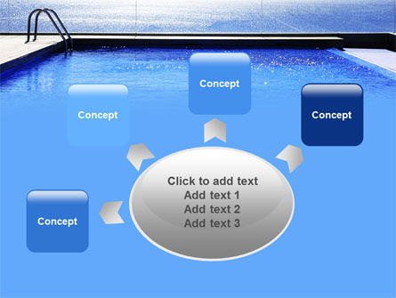 Pool On The Seashore PowerPoint Template Slide 7