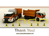 Transport Trucks PowerPoint Template#20