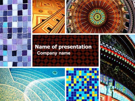 Ceramic Mosaic PowerPoint Template