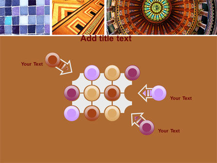 Ceramic Mosaic PowerPoint Template Slide 10