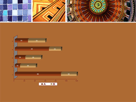 Ceramic Mosaic PowerPoint Template Slide 11
