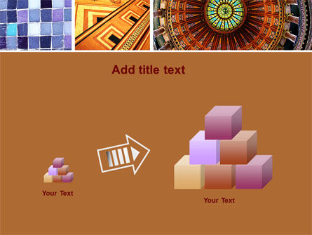 Ceramic Mosaic PowerPoint Template Slide 13