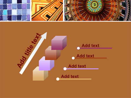 Ceramic Mosaic PowerPoint Template Slide 14