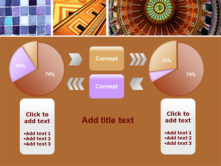 Ceramic Mosaic PowerPoint Template Slide 16