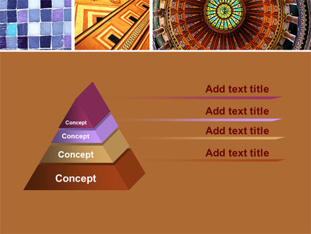 Ceramic Mosaic PowerPoint Template Slide 4