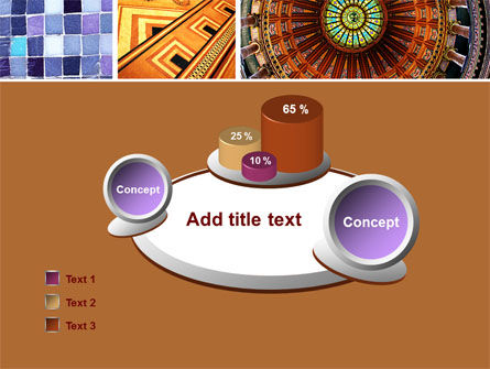 Ceramic Mosaic PowerPoint Template Slide 6