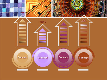 Ceramic Mosaic PowerPoint Template Slide 7