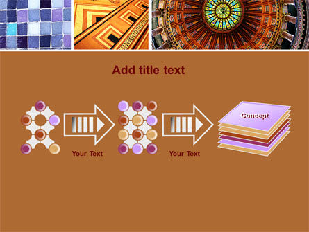 Ceramic Mosaic PowerPoint Template Slide 9
