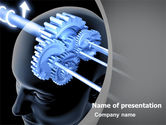 Consulting: Mechanisms Of Brain PowerPoint Template #05340