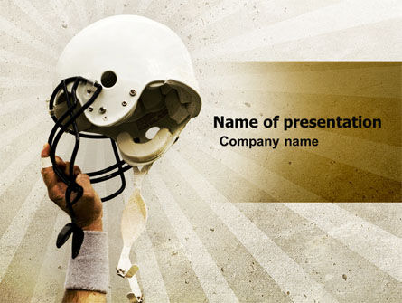 American Football League PowerPoint Template