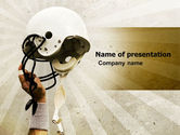 Sports: American Football League PowerPoint Template #05344