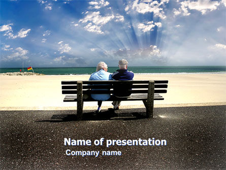 People: Elderly People PowerPoint Template #05345