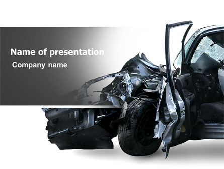 Accident PowerPoint Template