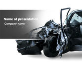 Consulting: Accident PowerPoint Template #05346