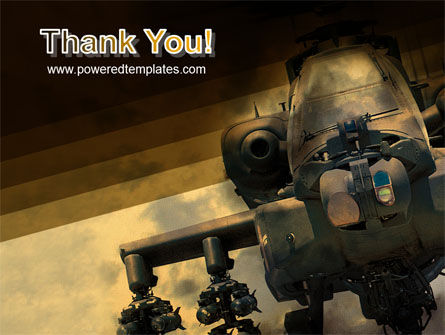 Military Helicopter PowerPoint Template Slide 20