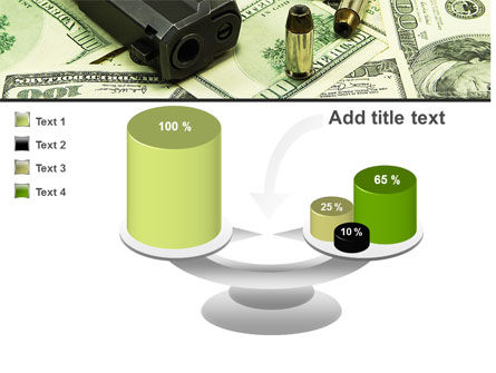 Money and Guns PowerPoint Template Slide 10