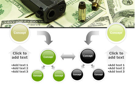 Money and Guns PowerPoint Template Slide 19
