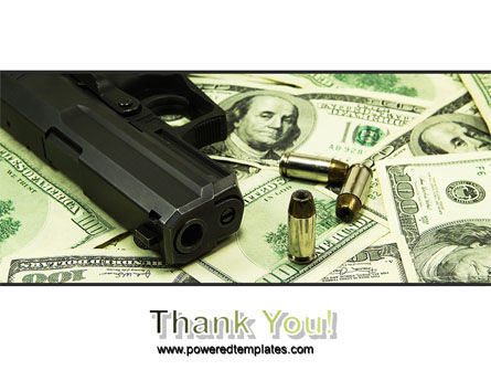 Money and Guns PowerPoint Template Slide 20