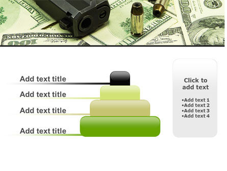 Money and Guns PowerPoint Template Slide 8